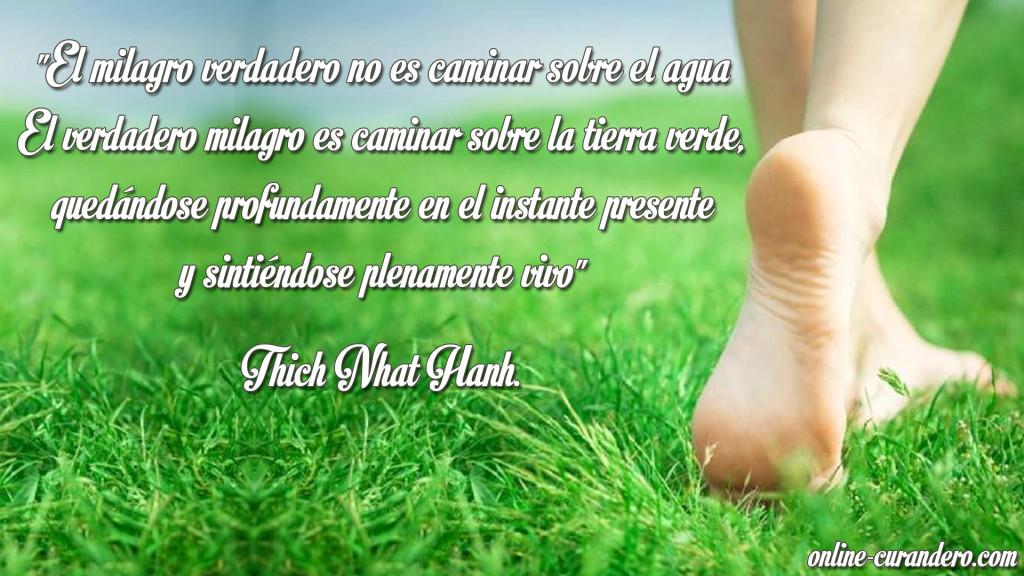 Caminar sobre agua  - Thich Nhat Hanh.